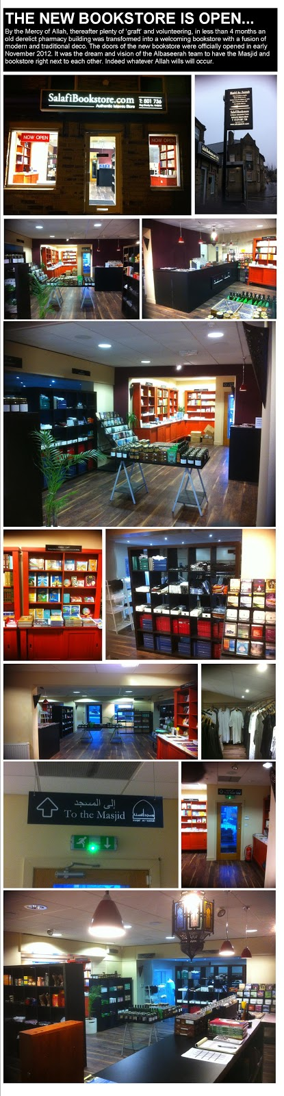 New Salafibookstore